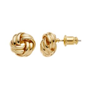 Dana Buchman Love Knot Stud Earrings