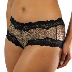 Lunaire Barbados Lace-Trim Boyshort Panty 15232 - Women's