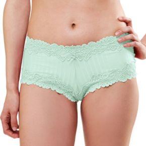 Lunaire Barbados Lace-Trim Boyshort Panty 15232 - Women's