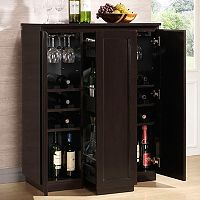 Baxton Studio Baltimore Modern Bar Cabinet