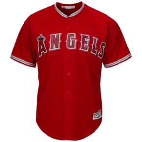Men's Majestic Los Angeles Angels of Anaheim Mike Trout Cool Base Replica MLB Jersey