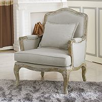Baxton Studio Constanza French Arm Chair