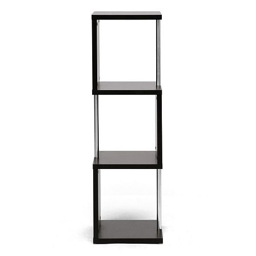Baxton Studio Lindy 3-Tier Modern Display Shelf
