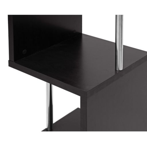 Baxton Studio Lindy 3-Tier Modern Display Shelf
