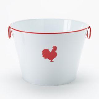 Food Network? Metal Rooster Bucket
