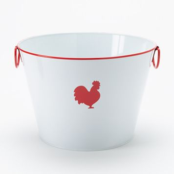 Food Network™ Metal Rooster Bucket