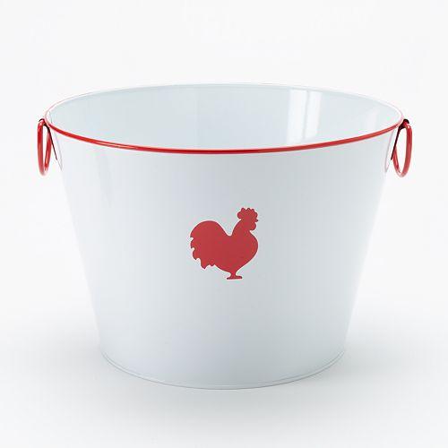 Food Network™ Metal Rooster Bucket