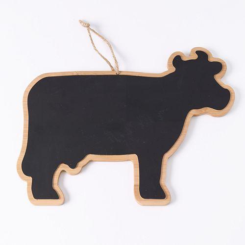 Food Network™ Bamboo Cow Chalkboard