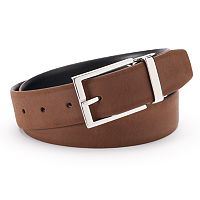 Chaps Ultra Suede Reversible Belt - Men