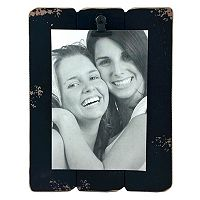 Fetco Home Decor Slats 4'' x 6'' Photo Clip Frame