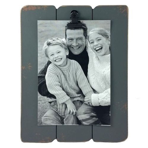 Fetco Home Decor Slats Clip Back 4'' x 6'' Frame