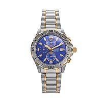 Citizen Men's Two Tone Stainless Steel Chronograph Watch - AN3394-59L