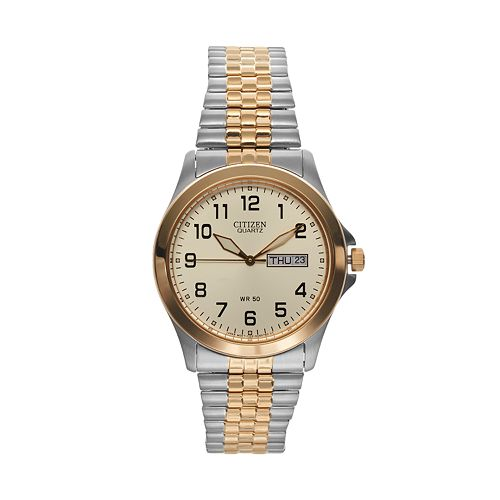 Citizen Men's Two Tone Stainless Steel Watch - BF0574-92P