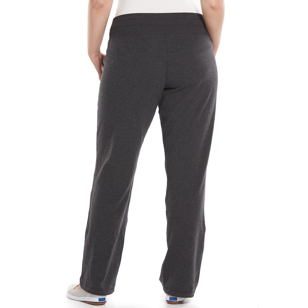 Plus Size Tek Gear® Wide-Leg Lounge Pants