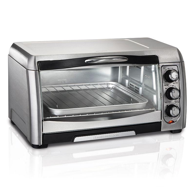 Countertop Microwave Kohls : Hamilton Beach Easy Access 6-Slice Convection Toaster Oven