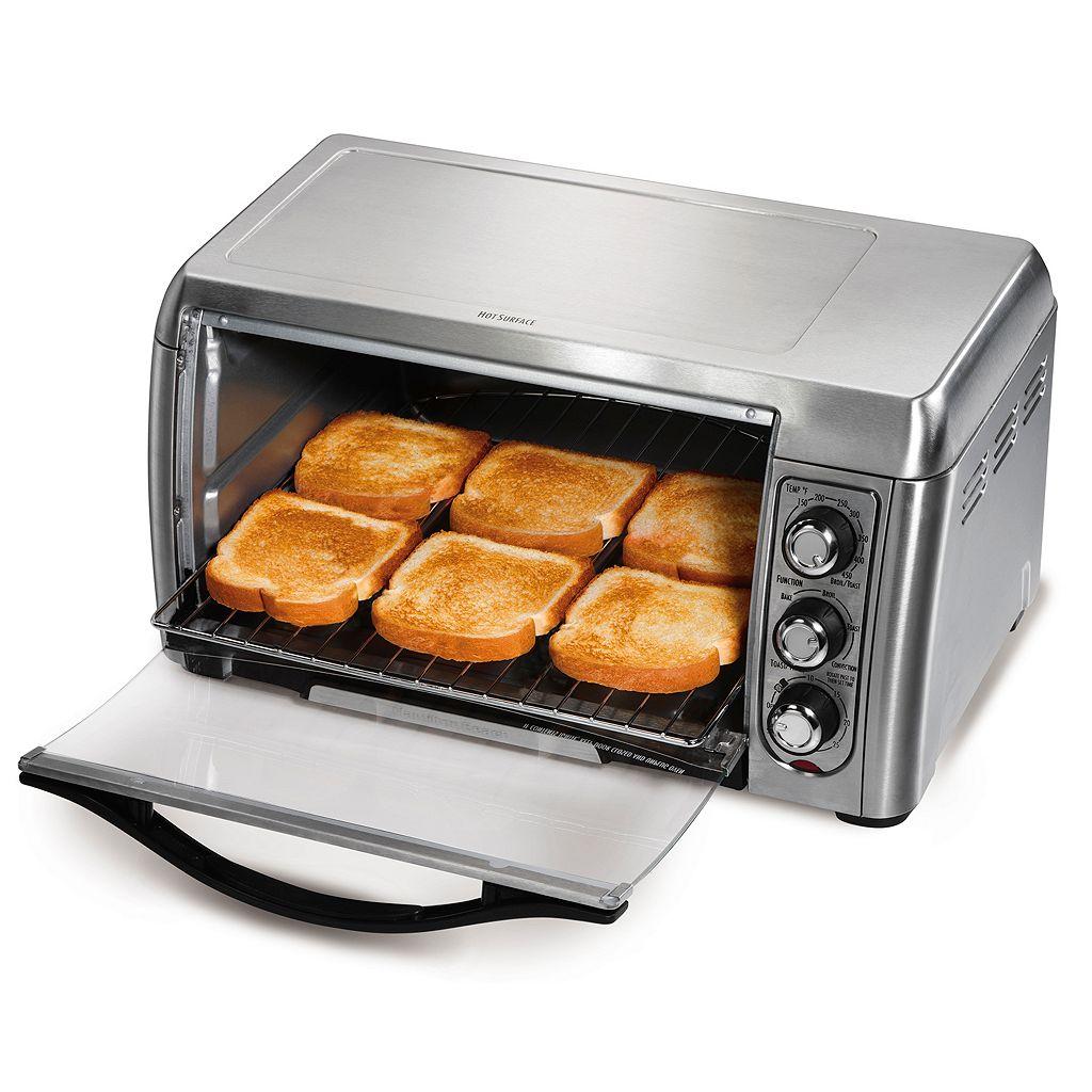 Hamilton Beach Easy Access 6-Slice Convection Toaster Oven