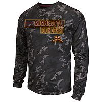 Men's Campus Heritage Minnesota Golden Gophers Blackout Camo Tee