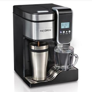 Hamilton Beach FlexBrew Single-Serve Coffee Maker with Hot Water Dispenser