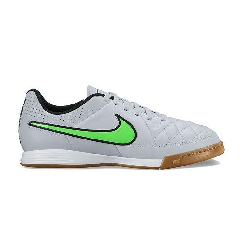 38a2e733d Imágenes de Nike Kids Tiempo Genio Leather Indoor Soccer Shoe