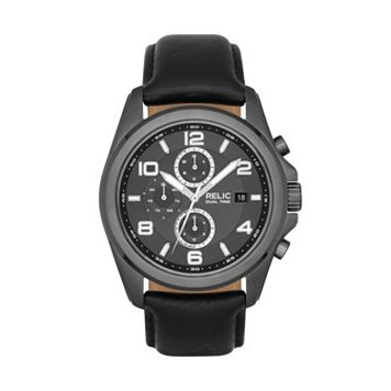 Relic Men's Daley Leather Watch