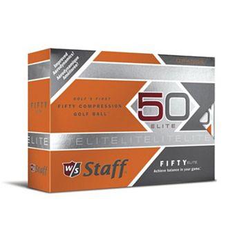 Wilson Staff 12-pk. Fifty Elite Compression Golf Balls