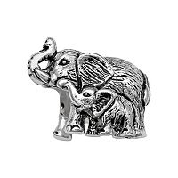 Individuality Beads Sterling Silver Elephant Family Bead