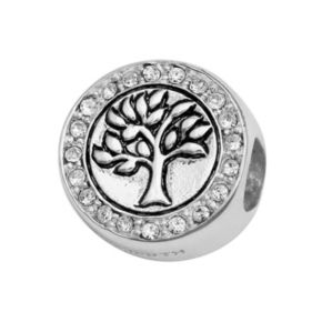 Individuality Beads Crystal Sterling Silver Family Tree Bead