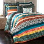 Lush Decor Boho Stripe Comforter Set