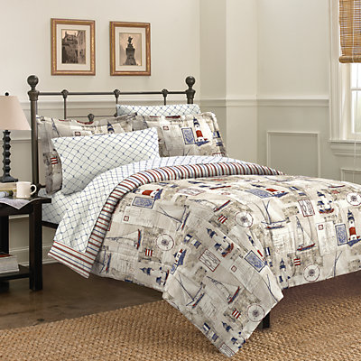 Free Spirit Cape Cod Reversible Bed Set