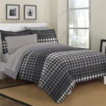 Loft Style Houndstooth Bed Set