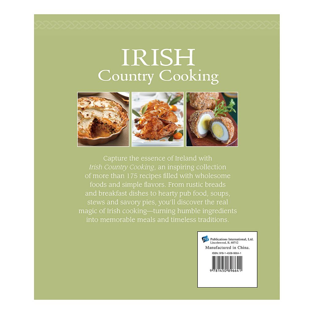 Publications International, Ltd. ''Irish Country Cooking'' Cookbook