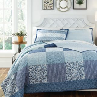 KD Spain Horizon Reversible Quilt Set