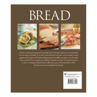 Publications International, Ltd. ''Bread'' Cookbook