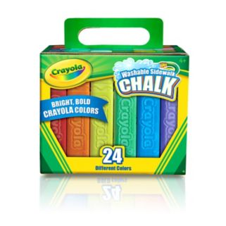 Crayola 24-pk. Washable Sidewalk Chalk