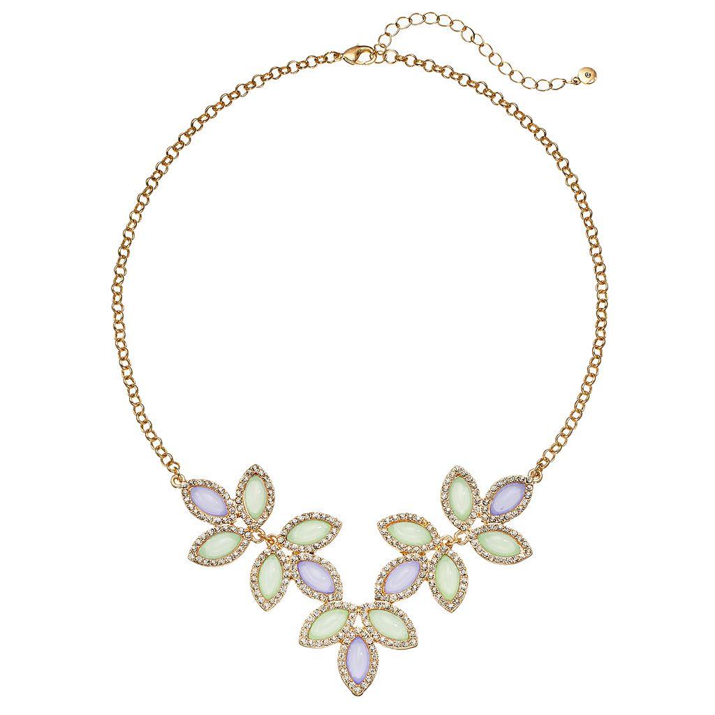 LC Lauren Conrad Flower Necklace