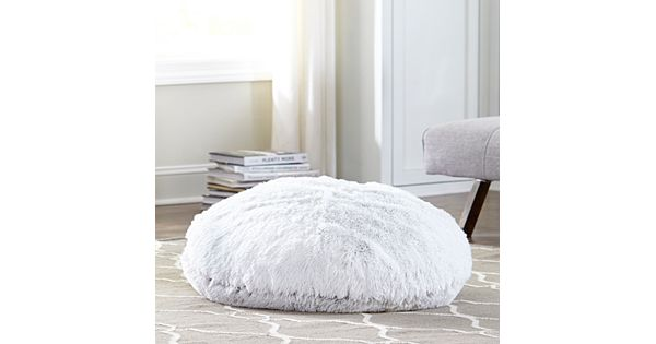 Kennedy Floor Covering Carpet Gallery: M. Kennedy Home Polar Faux Fur Floor Cushion