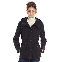 Women's Levi's Hooded Anorak Military Jacket