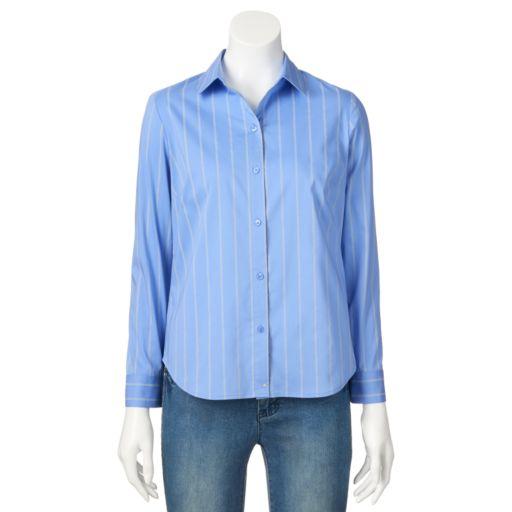 Petite Apt. 9® Structured Shirt