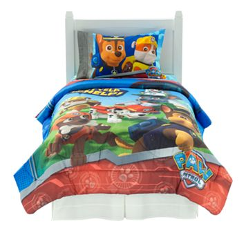 Nickelodeon Paw Patrol Ruff Ruff Rescue Bed Set