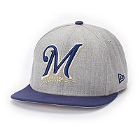 Adult New Era Milwaukee Brewers Grand Original Fit 9FIFTY Snapback Cap