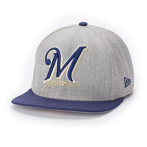 Adult New Era Milwaukee Brewers Grand Original Fit 9FIFTY Snapback Cap