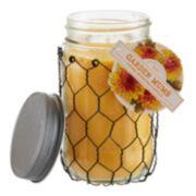 SONOMA life + style® Garden Mums 12-oz. Mason Jar Candle