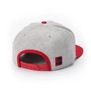 Adult New Era Miami Heat Grand Original Fit 9FIFTY Snapback Cap
