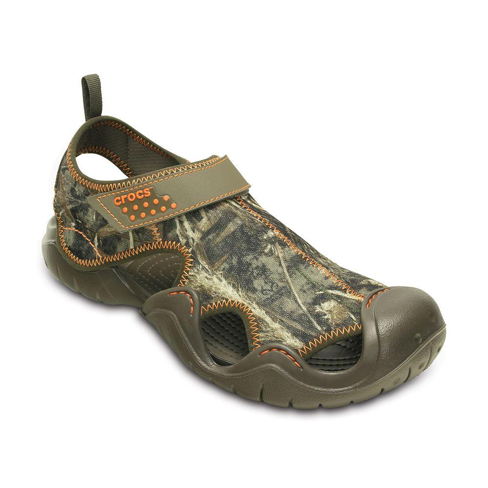 36e0f5ffefa6e Crocs Swiftwater Realtree Max-5 Men's River Sandals