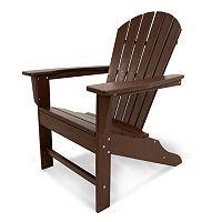 POLYWOOD® South Beach Neutral Outdoor Adirondack Chair