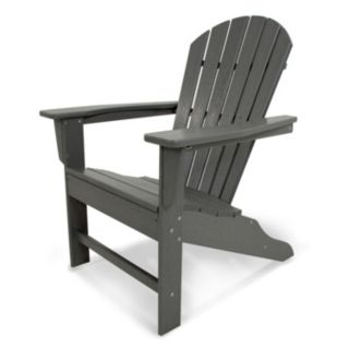 POLYWOOD® South Beach Neutral Outdoor Adirondack Chair