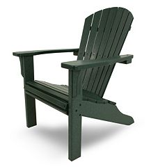 POLYWOOD® Seashell Outdoor Adirondack Chair