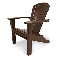 POLYWOOD® Seashell Outdoor Adirondack Chair