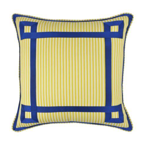 Waverly Charmed Grosgrain Throw Pillow