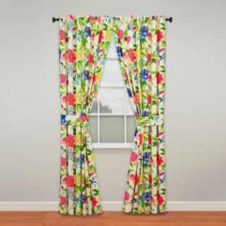 Waverly Charmed Window Curtain Pair - 50'' x 84''